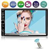 Double Din Car Stereo,Ezonetronics indash Touch Screen Car AM/FM/USB/SD Player Radio for Universal(No DVD) CW7021