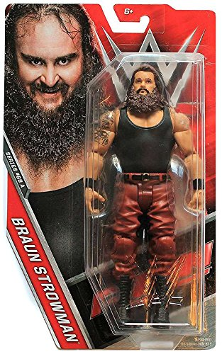WWE Basic Series #68 version - Braun Strowman Figure by Mattel