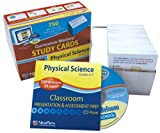 NewPath Learning Middle School Physical Science Study Card, Grade 5-9