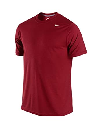 f58a30e382 Amazon.com  Nike Men s Legend Dri-Fit(tm) Poly Short Sleeve Crew Top ...
