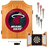 NBA Miami Heat Wood Dart Cabinet Set