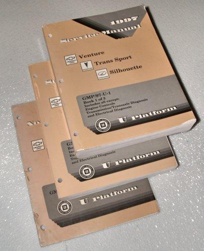 1997 Chevrolet Venture - Pontiac Trans Sport - Oldsmobile Silhouette Service Manuals (GM U Platform, Multiple Volume Set)