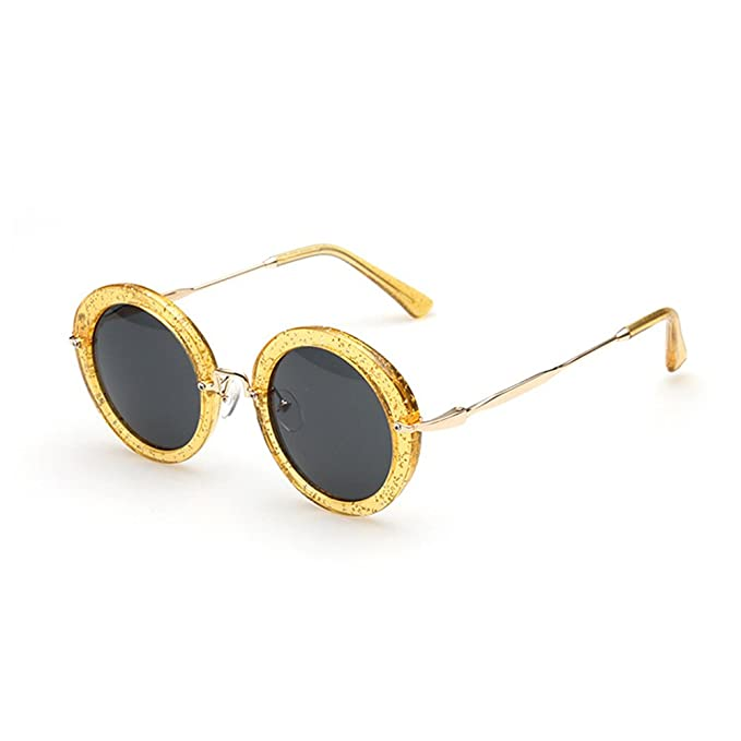 VeBrellen Retro Las mujeres redondas gafas de sol polarizadas de los hombres de conducción gafas de