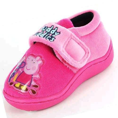 Peppa Pig - Zapatillas de estar por casa para niña, color, talla 6 (
