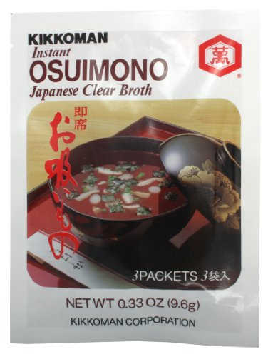 Kikkoman Osuimono Instant Clear Soup, 0.33-Ounce (Pack of -