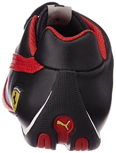 PumaFuturecatlthsff5 - Zapatillas adultos unisex Negro (Black-Rosso Corsa 05)