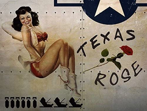 Pin up girl women are made to be loved not  vintage style metal wall plaque sign