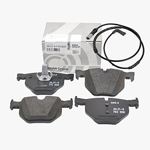BMW Rear Brake Pads Pad Set Genuine OE 76937 + Sensor 89505 (VIN#REQUIRED)