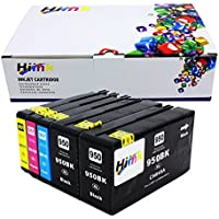 HIINK 5 Pack 950xl 951xl ink cartridge For HP OfficeJet Pro 8600 8100 8610 8620 8660 8630 8640 8615 8625 251DW 276DW 271DW printers
