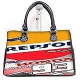 Marc Marquez HRC Repsol MotoGP Champion Custom Barrel Type Handbag