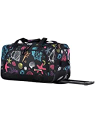 Olympia 21 Inch Rolling Duffel, Seashell, One Size