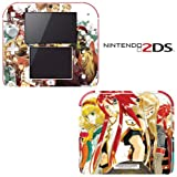 Tales of the Abyss Decorative Video Game Decal Cover Skin Protector for Nintendo 2Ds