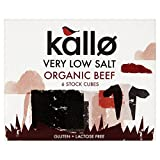 Kallo Organic Very Low Salt Beef Stock Cubes (6x10g) - Pack of 6