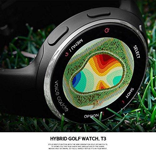 Voice Caddie T3 Hybrid Golf GPS Rangefinder Watch by VOICE CADDIE