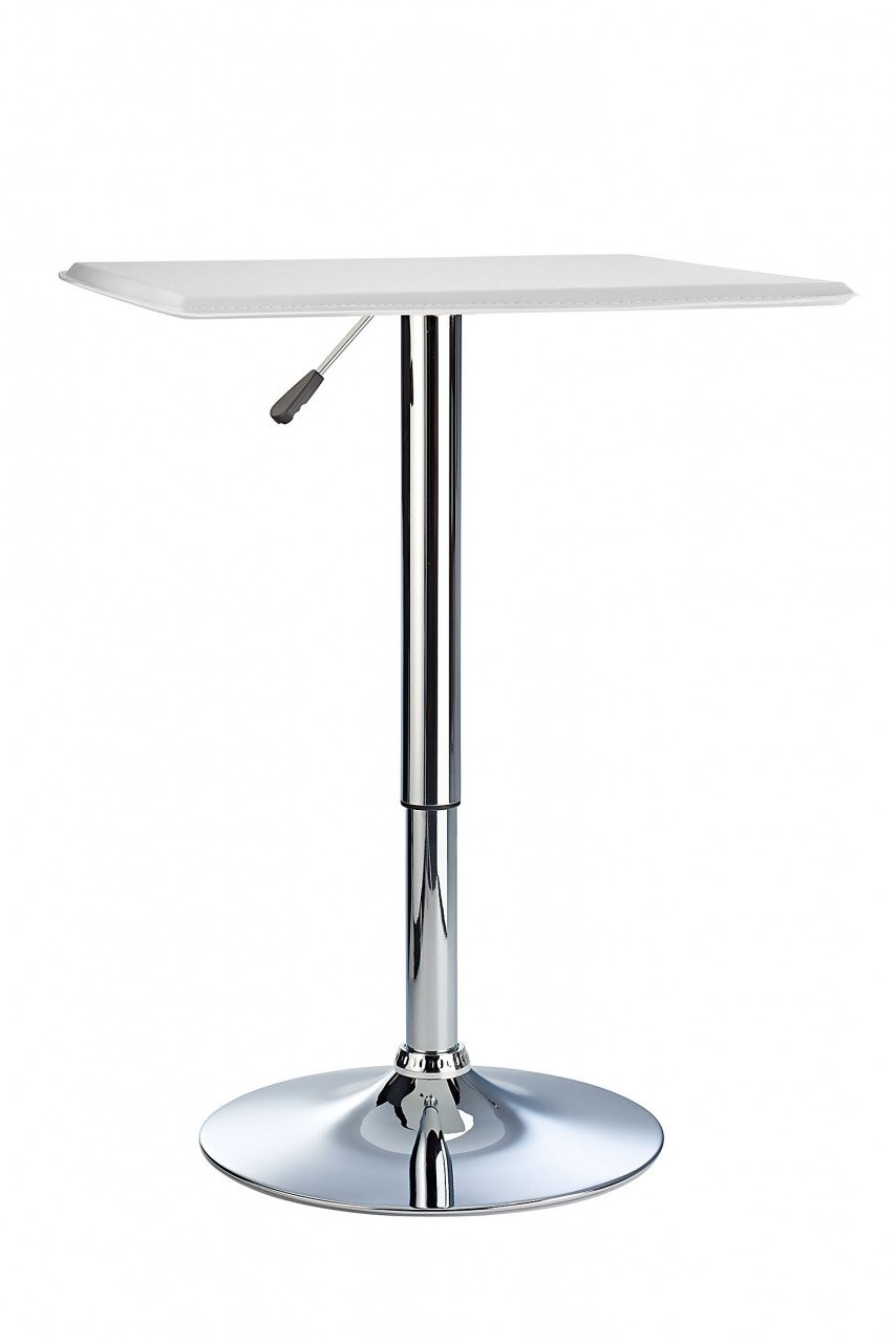 Bistro Bar Table White Costantino