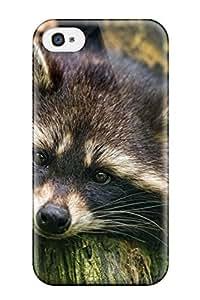 Awesome TashaEliseSawyer Defender Tpu Hard Case Cover For Iphone 4/4s- Raccoon 9883969K93203188