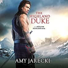 The Highland Duke Audiobook by Amy Jarecki Narrated by Penelope Hardy, Alex Hyde-White