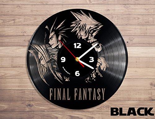 Vinyl Scratch Final Record (Final Fantasy vinyl record wall clock)