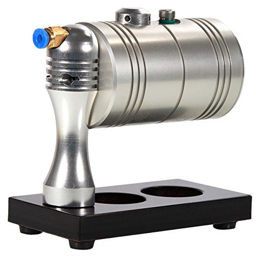 Sunnytech Hot Live Steam Engine Cylinder Unibody Design Boiler Education Toy DIY Gl-001