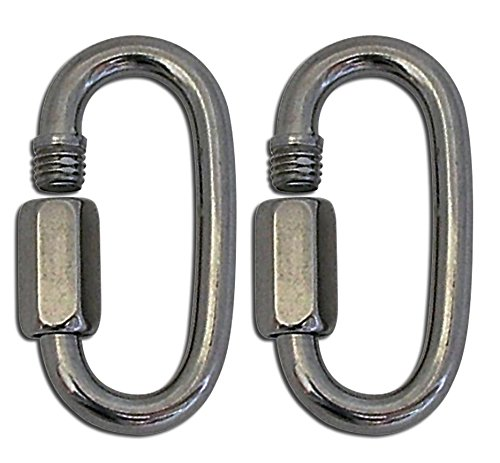 Lucky Line Tough Links 2-5/16'' HD Carabiner; 2 pack (A7612) by Lucky Line