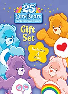 Care Bears 25th Anniversary 4 Dvd Gift Set