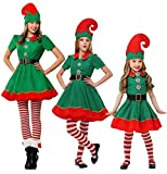 Festival Adult And Children Holiday Elf Costume Santa Claus Christmas Suit