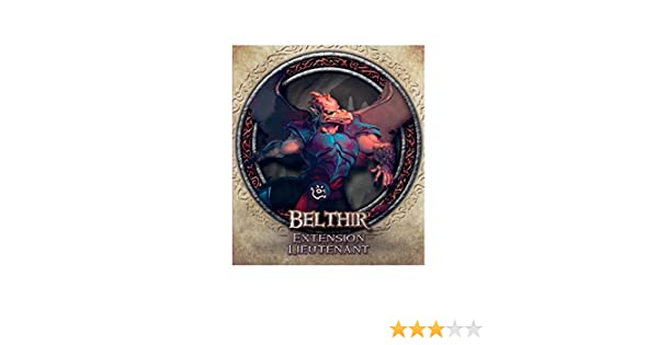 Descent Seconde Edition - Pack de Lieutenant : Belthir (Version Française): Amazon.es: Hogar