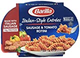 Barilla Italian Entrees Sausage and Tomato with Rotini Ready Meal, 9 Ounce - 6 per case.