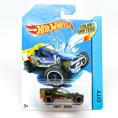 HWTF BUGGY * COLOR SHIFTERS * 2014 Hot Wheels City Series 1:64 Scale Vehicle #4/48 (Color Changing Cars Hotwheels compare prices)