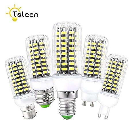 1 bombilla LED SMD Lampada Ampolo Bombillas Bombillas LED Bombilla Spot Lamparas Foco Emisión Color: Transparente, E9 E27 Blanco Cálido: Amazon.es: ...