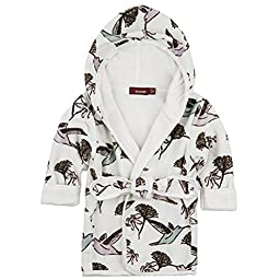 Milkbarn - Hooded Robe - Hummingbird