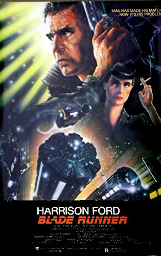 Blade Runner (1982) Authentic Original UNFOLDED Sci-Fi Classic 27×41 Movie Poster