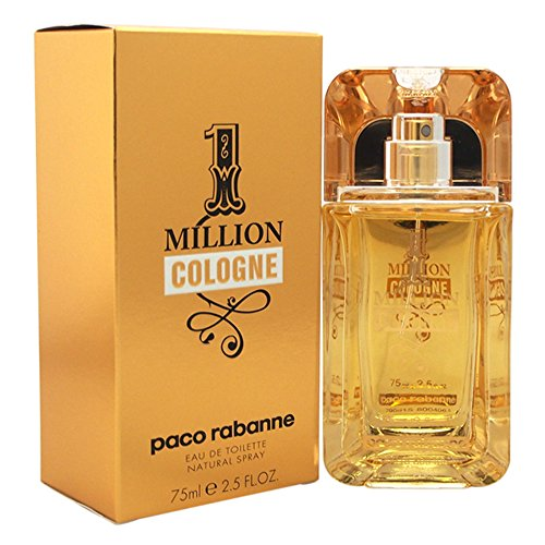 Paco Rabanne 1 Million Cologne Eau de Toilette Spray for Men, 2.5 oz