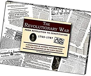 product image for CHANNEL CRAFT Newspaper Compilation - Revolutionary War Era