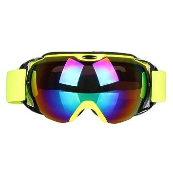 Gafas antivaho para Esquiar, Gafas para Motocicleta Gafas Harley, Gafas de Sol esféricas polarizadas