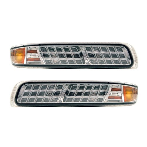 APC 403463PLS Chevrolet Suburban Diamond Cut Parking Light, Side Marker and Turn Light (3500 Apc Diamond)