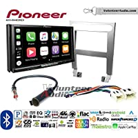 Volunteer Audio Pioneer AVH-W4400NEX Double Din Radio Install Kit with Wireless Apple CarPlay, Android Auto, Bluetooth Fits 2004-2006 Nissan Maxima (Without Bose)