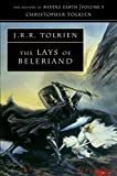 Book cover from Lays of Beleriand (History of Middle-Earth) by J.R.R. Tolkien