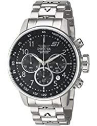 Invicta Mens S1 Rally Quartz Stainless Steel Casual Watch, Color:Silver-Toned (Model: 23079)