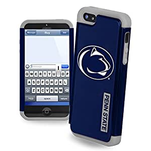 Wishing Forever Collectibles Penn State Nittany Lions Rugged Dual Hybrid Apple iPhone 5 & 5S Case