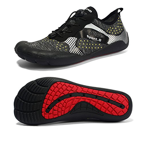 Maniamixx Water Shoes Men Wide Barefoot Shoes Women for Hiking Jogging Surfing Trekking Beach – DiZiSports Store