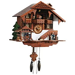 New Kassel™ Large Cuckoo Clock with Multiple Moving Facets