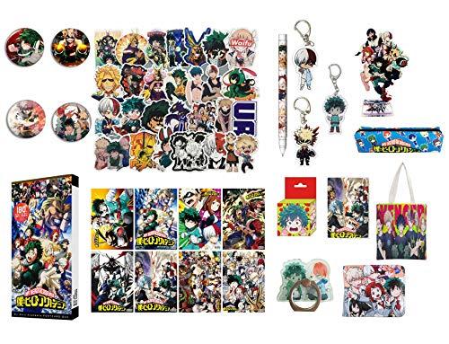 Boku No Hero Academia My Hero Academia Stickers Collectibles Looksee Box Gift Set MHA Stickers (Upgraded)
