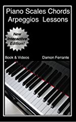 This new edition book and streaming video course is all that you will ever need for learning piano chords, scales, arpeggios, how to read music, and basic music theory!Piano Professor Damon Ferrante guides you through 140 step-by-step lessons...