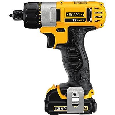DEWALT DCF610S2 12-Volt Max 1/4-Inch Screwdriver Kit from Dewalt