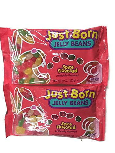 Just Born Jelly Beans, Spice Flavored, 10 oz. Bags