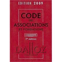 CODE DES ASSOCIATIONS 2009
