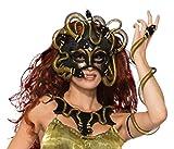 Bristol Novelty 78916 Medusa Mask, One Size
