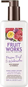 Fruit Works Passion Fruit & Watermelon Hand & Body Lotion 1x 500ml