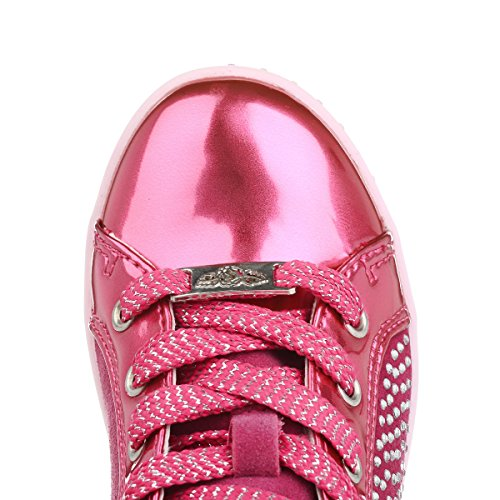 Lelli Kelly LK6982 (FN01) Strass 2 Fuxia Vernice Boots-31 (UK 12.5)